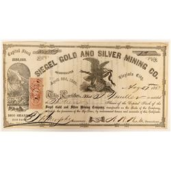 Siegel Gold and Silver Mining Company Stock  (91918)