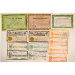 Con. Virginia Mining Company Stock Collection  (102192)