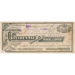 Occidental Consolidated Mining Co. Stock Certificate  (100881)