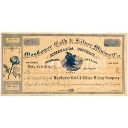 Mayflower Gold and Silver MIning Company Stock - VERY EARLY  (82028)