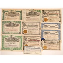 Diamondfield Mining Stock Certificate Collection  (102532)