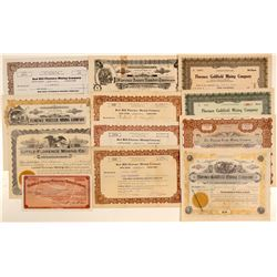 "Goldfield ""Florence"" Mining Stock Certificate Collection  (102515)"