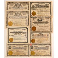 """Goldfield """"Jumbo"""" Mining Stock Collection  (102516)"""