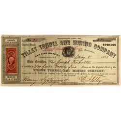 Tilley Tunnel and Mining Company Stock  (91907)