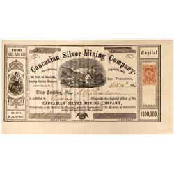 Caucasian Silver Mining Company Stock  (91899)