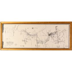 Comstock Lode Repro Map  (91506)
