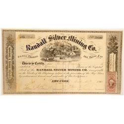 Randall Silver Mining Company (Nevada) Stock  (91911)