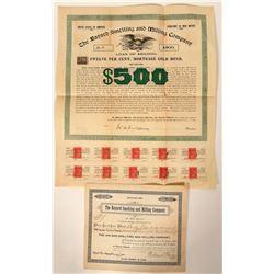 Bayard Smelting and Milling Company Stock and Bond  (90535)