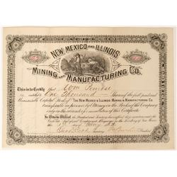 New Mexico and Illinois Mining and Manufacturing Company Stock  (90546)