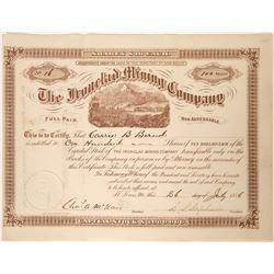 Ironclad Mining Company Stock  (90550)