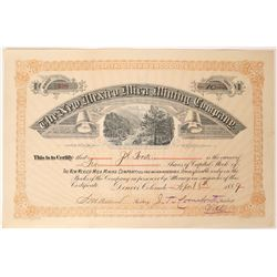 New Mexico Mica Mining Company Stock  (90545)