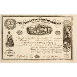 Stewart Gold Mining Company of North Carolina Stock  (81966)