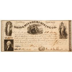 Ohio & Missouri Mining Company Stock  (81972)