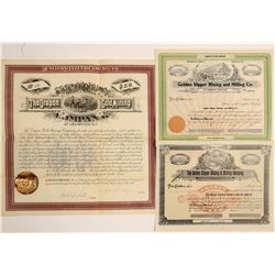 Three Golden Oregon Mining Stocks: Golden Slipper and Oregon Gold  (91955)