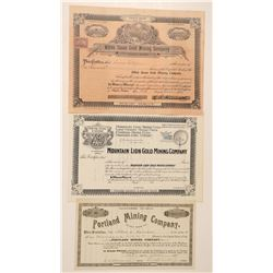 Three Oregon Mining Stocks: Portland, White Swan and Mountain Lion  (91966)