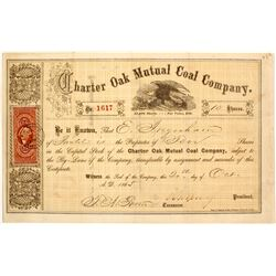 Charter Oak Mutual Coal Company Stock  (81937)