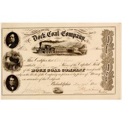 Dock Coal Company Stock  (81673)