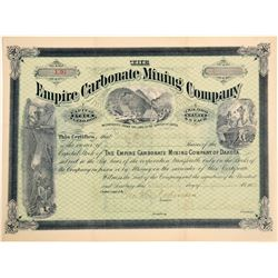 Empire Carbonate Mining Company Stock Certificate  (100808)