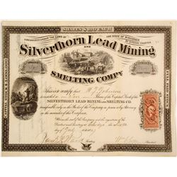 Silverthorn Lead Mining and Smelting Stock  (82101)
