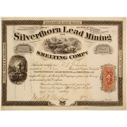Silverthorn Lead Mining and Smelting Stock  (82108)
