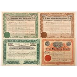 Four Mica Company Stocks  (101401)