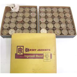 Ingersoll Rand Carset Jackbits Canisters and Original Box  (88347)