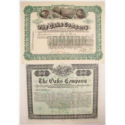 Two stocks from Oaks Company  (82341)