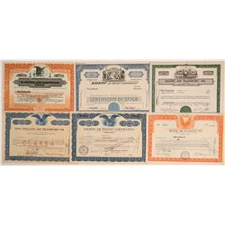 Air Freight Companies Stock Certificates  (102553)
