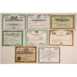 Aircraft Funding Companies Stock Certificates  (102561)
