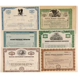 Aircraft Products & Maintenance Company Stock Certificates  (102560)