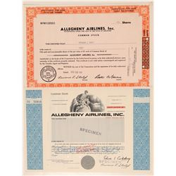 Allegheny Airlines Stocks  (101475)