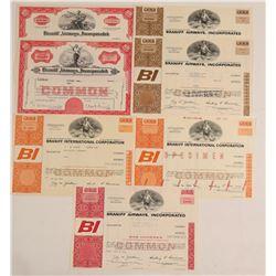 Braniff Airways, Inc. Stock Certificates  (103401)