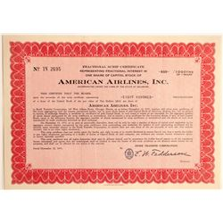 Early American Airlines Stock   (102241)