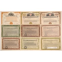 Fairchild Engine & Airplane Corp. Stock Certificates  (103402)