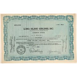 Long Island Airlines, Inc. Stock Certificate  (102589)
