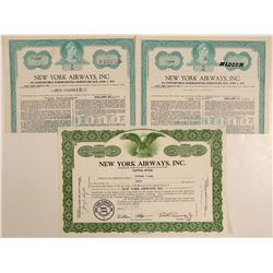 New York Airways, Inc. Stock Certificate & Bonds  (102600)