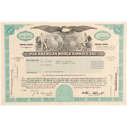 Pan American World Airways, Inc. Stock Certificate  (102570)