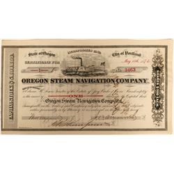 Oregon Steam Navigation Company Stock  (91948)