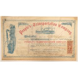 Steamboat People's Transportation Company Stock  (91947)