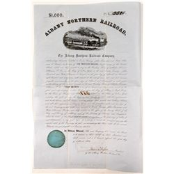 Albany Northern Railroad$1,000 Bond  (81526)