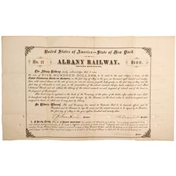 Albany Railroad Mortgage Bond of 1893  (81528)