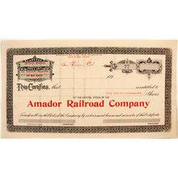 Amador Railroad Co.  (82209)