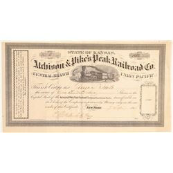 Atchison & Pike's Peak Railroad Co.  (104809)