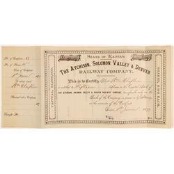 Atchison, Solomon Valley & Denver Railway Co.  (104813)