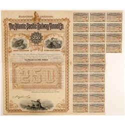 Atlantic-Pacific Railway Tunnel Co. Bond (104826)