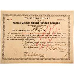 Bureau County Mineral Railway Company  (82242)