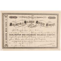 Burlington and Colorado Railroad Co.  (104883)