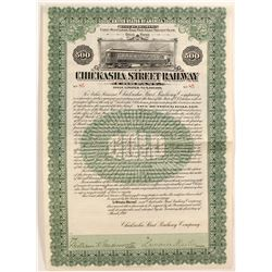 Chickasha Street Railway Company Bond  (81703)