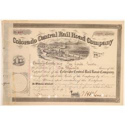 Colorado Central Rail Road Company - version 1 (104811)