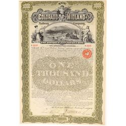 Colorado Midland Railway Co. Bond  (104855)